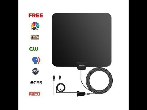 RV Stuff ~ 50 Mile Range HDTV Antenna Review