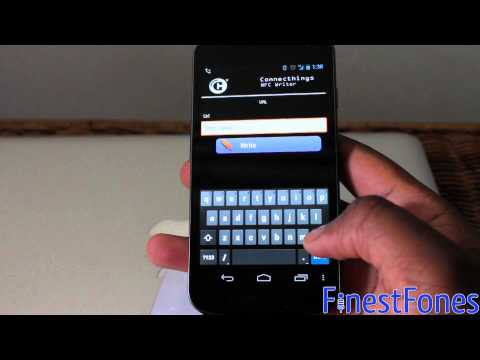 How to use generic NFC tags with Sony Xperia SmartTags - Galaxy Nexus or Xperia S