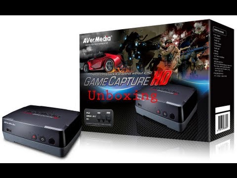 Unboxing Placa Avermedia Game Capture HD