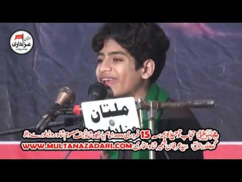 Zakir Zain Abbas Jewan I Majlis 15 Feb 2019 I Imam Bargah Shah E Najaf Burewala