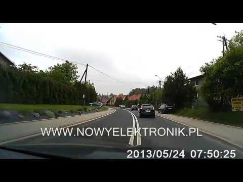 Rejestrator trasy DVR Prestigio Roadrunner 310 HD 1280x720