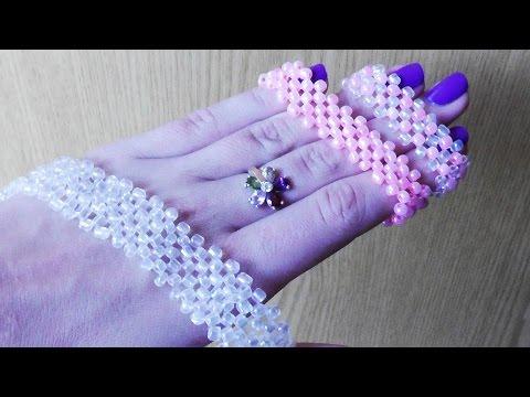 - Как плести браслет из бисера своими руками!  В этом видео я вас научу делать красивые широкие браслеты с.