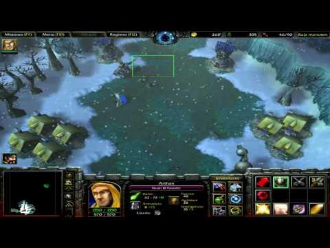 Warcraft 3 Campaña de los humanos part 1