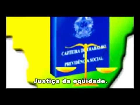 HINO DA JUSTIÇA DO TRABALHO Vicente Fonseca vídeo TRT14