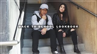 BACK TO SCHOOL FALL OUTFITS CINEMATIC LOOKBOOK - COLLEGE EDITION | Michelle Nguyen