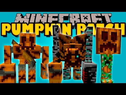 PUMPKIN PATCH MOD - Los Monstruos calabaza!! (Mod Halloween) - Minecraft mod 1.6.4 Review