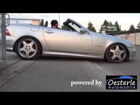 Mercedes-Benz SLK 55 AMG R170 - V8 Swap / Conversion Sound Acceleration