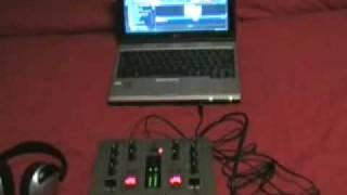 Run Virtual DJ with external Mixer - A cheap way of start Djing