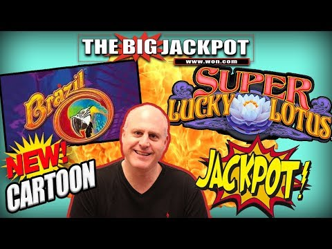 💥DOUBLE JACKPOT HIT$ 💥BRAZIL BONUS + SUPER LUCKY LOTUS 🔹LINE HIT