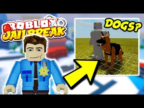 Roblox Jailbreak NEW UPDATE NEWS! DOGS *MAYBE* COMING IN THE FUTURE!