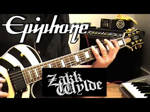 Epiphone Zakk Wylde Les Paul // July 16, 2007