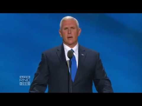 Vice Presidential Nominee Mike Pence | Full Speech | 2016 Republican National Convention