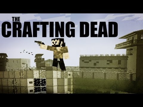 Minecraft: The Crafting Dead Mod Ep. 1 Great Start!