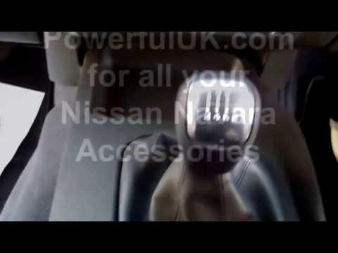 How to fit gear knob / gaiter on Nissan Navara D40 pickup