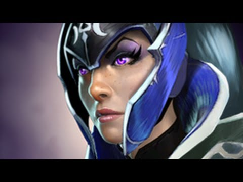 dota 2 hero spotlight luna the moon rider youtube