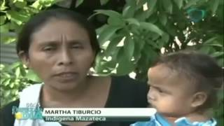 Mexican woman giving birth on a LAWN when nurses denied her treatment