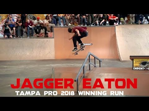 Jagger Eaton: 1st Place Run | Tampa Pro 2018 | Independent Trucks