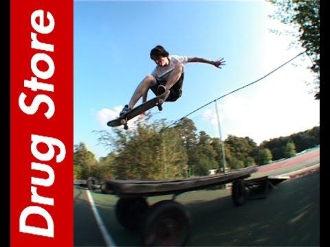 Wimbledon DIY - Drug Store Skateboarding