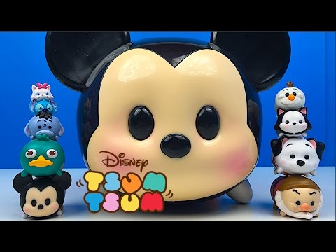 TSUM TSUM STACK'N DISPLAY CASE MICKEY MOUSE EXHIBIDOR DE TSUM TSUM 12 FIGURAS CON MICKEY MOUSE BUZZ