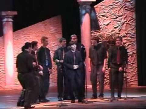 """鹿児島市成人式 (3/3) """"Shimauta 島唄"""" A Cappella アカペラ Wesleyan Spirits Japan Trip (15/16)"""