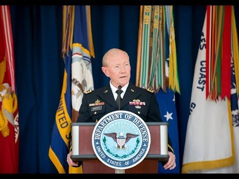 US Army General Martin E Dempsey Donegal TV Feature