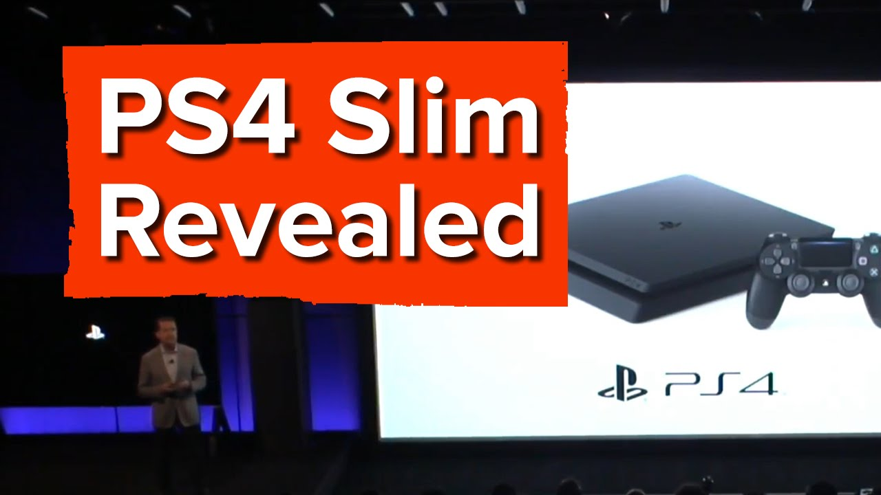 Sony reveals the PS4 Slim, surprising everybody
