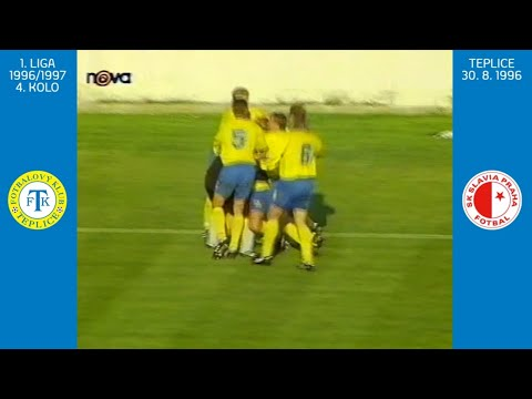 1. liga 1996/97: Teplice - Slavia Praha (sezóna 1996/1997)