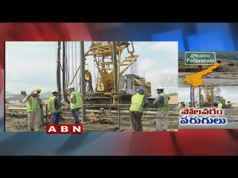 Progress in Polavaram Project works | Diaphragm wall works