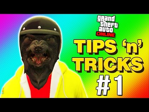 GTA 5 Online Tips and Tricks - NO Cops, Mask + Helmet, No Stomach! (GTA 5 Online)