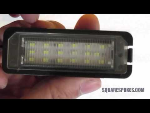 Racing Dash LED License Plate Lights (Review/Unbox/Comparison)