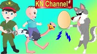 Hoạt hình KN Channel CHÓ SÓI ĂN TRỘM TRỨNG ĐÀ ĐIỂU VÀ CÁI KẾT....|  GIÁO DỤC MẦM NON
