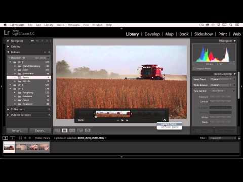 Lightroom CC - Working with DSLR Video