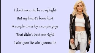 Download Lagu Bebe Rexha - MEANT TO BE (Lyrics) (feat. Florida Georgia Line) Gratis STAFABAND