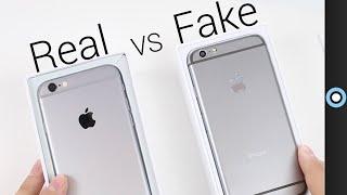 Fake vs Real iPhone 6!