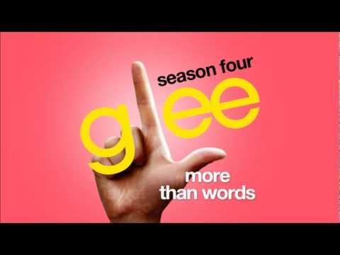 More Than Words - Glee Cast [hd Full Studio] video