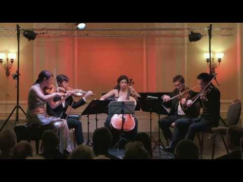 Camerata Pacifica — Brahms String Quintet No.2 in G Major, Op.111, 1st mvmnt.