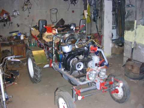 Traktorek ciągnik sam