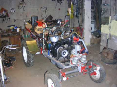 Podnosnik do traktorka sam