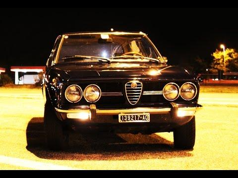Alfa Romeo Alfetta (seconda parte) - Inserito da Davide Cironi il 1 novembre 2014 durata 8 minuti e 5 secondi - Seconda parte del test con l�Alfetta del 1972. Dopo averla guidata per 5 giorni e oltre 300 km tiriamo le somme e la mettiamo a nanna.