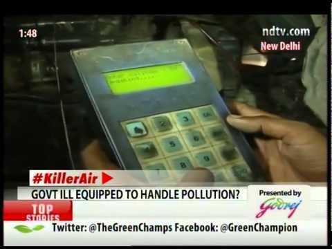 Air Pollution Index: Delhi Improves its situation