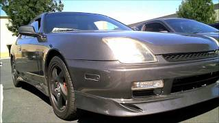 1999 Honda Prelude with Full Wings West Aero