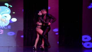 Kathy Reyes & Francisco Junior at Aventura Dance Cruise 2014