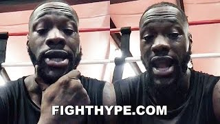"""IF I LOSE TO ORTIZ..."" - WILDER KEEPS IT 100 ON HOW A LOSS TO LUIS ORTIZ WOULD AFFECT HIM"