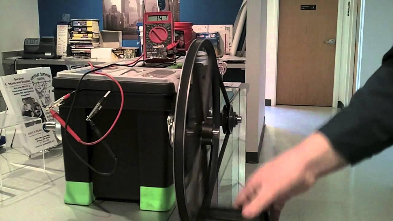 Emergency Hand Crank Generator Prestowind