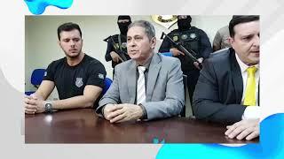 Polícia Civil fala sobre prisão de assaltante de bancos no Pará