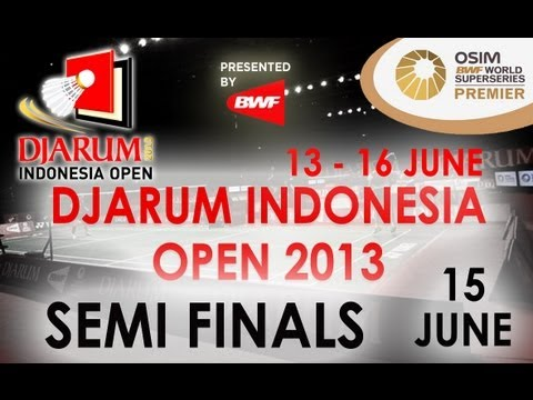 SF - MS - Marc Zwiebler vs Tommy Suguarto - 2013 Djarum Indonesia Open