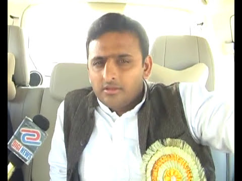 Akhilesh Yadav interview with Pawan Singh Part 1