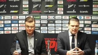 Sport - SaiPa lehdistötilaisuus 2.2.2016