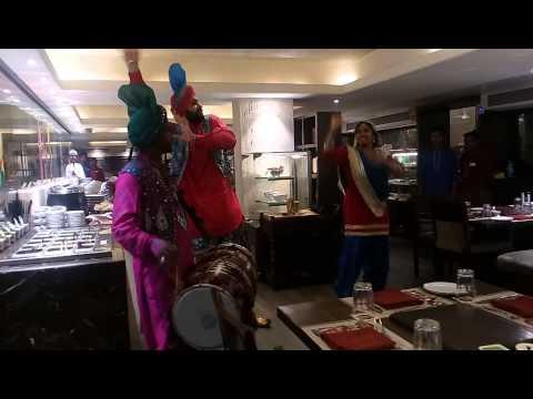 Bhangra dance at Bombay Barbeque khar