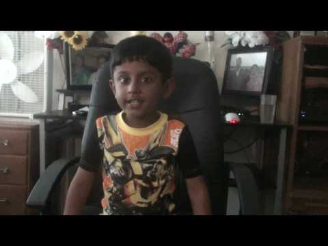 Saiprajwal Saying English Rhymes (i Have A Tooth Brush) video